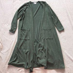 LuLaRoe long cardigan sweater